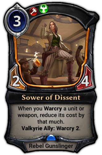 Sower of Dissent card