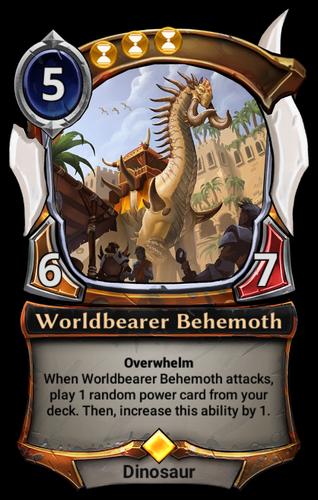 Worldbearer Behemoth card