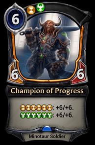 Champion of Progress