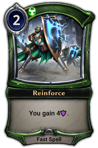 Reinforce card