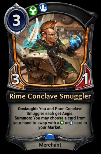 Rime Conclave Smuggler card