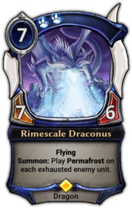 Rimescale Draconus