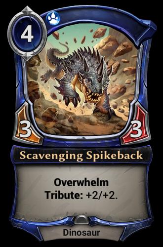 Scavenging Spikeback card