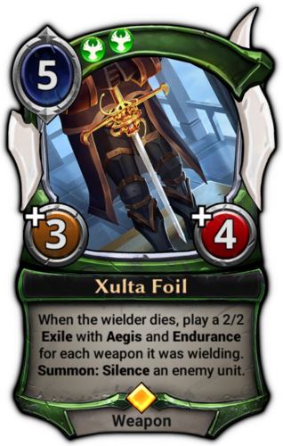 Xulta Foil card