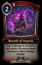 Breath of Voprex