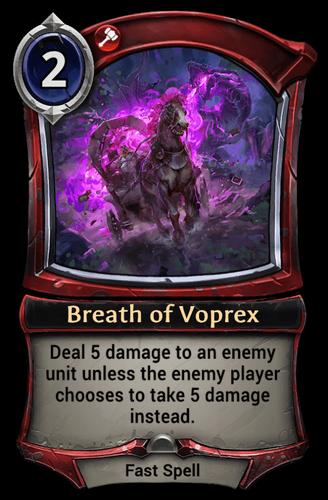 Breath of Voprex card