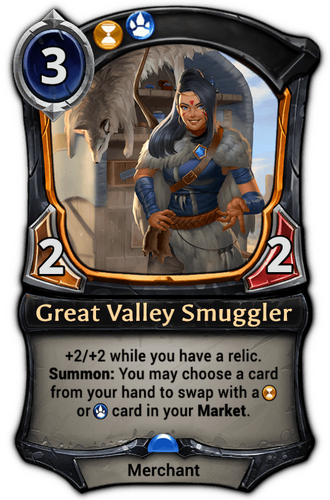 Great Valley Smuggler card