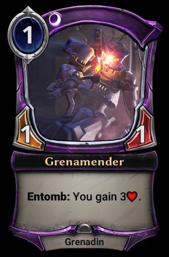 Grenamender card