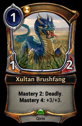 Xultan Brushfang card