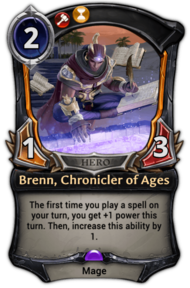 Brenn, Chronicler of Ages