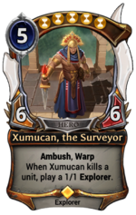 Xumucan, the Surveyor