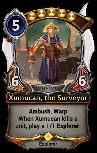 Xumucan, the Surveyor card