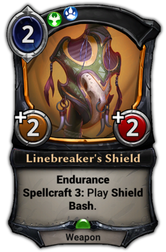 Linebreaker's Shield card