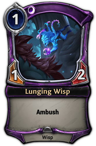Lunging Wisp card