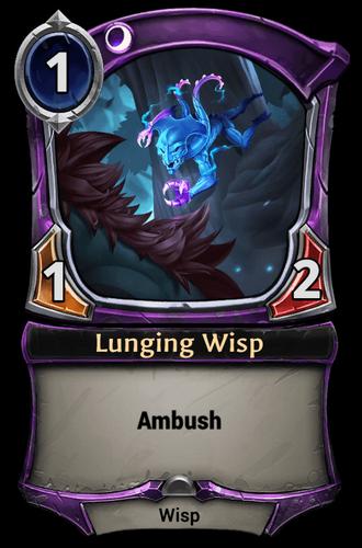 Lunging Wisp card