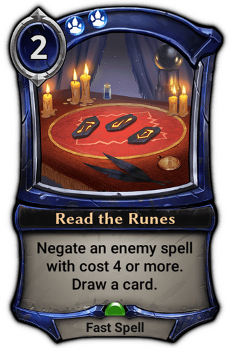 Read the Runes card