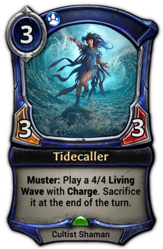 Tidecaller card