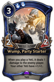 Wump, Party Starter