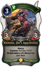 Kemmo, Ijin's Apprentice