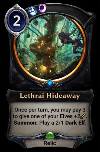Lethrai Hideaway card
