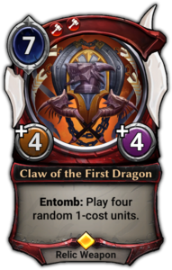 Claw of the First Dragon