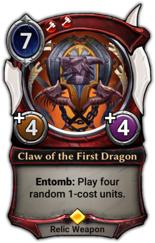 Claw of the First Dragon card