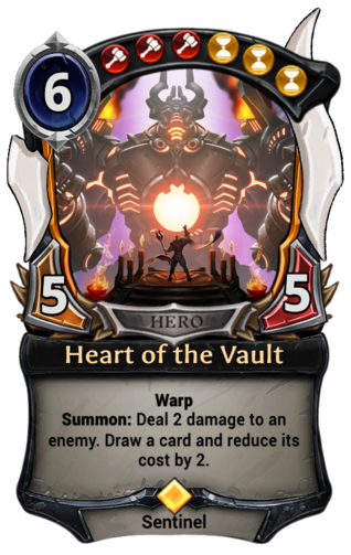 Heart of the Vault card