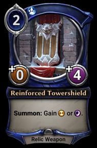 Reinforced Tower Shield