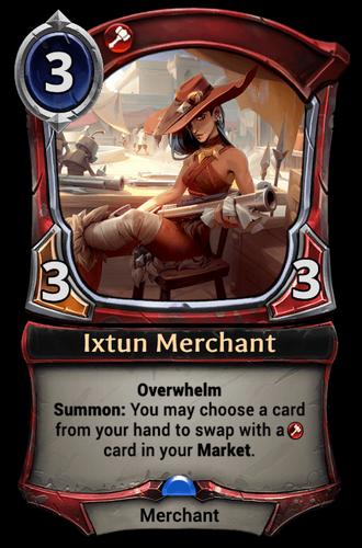 Ixtun Merchant card