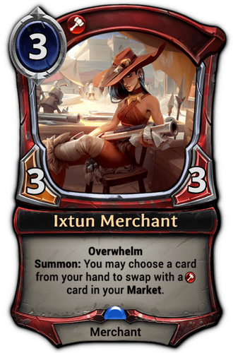Ixtun Merchant card
