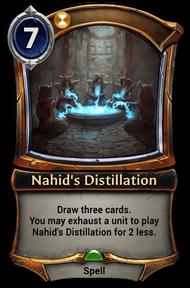 Nahid's Distillation