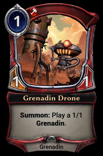 Grenadin Drone card