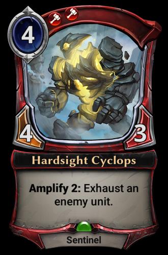 Hardsight Cyclops card