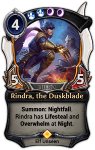 Rindra, the Duskblade