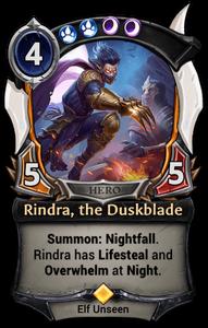 Rindra, the Duskblade