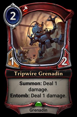 Tripwire Grenadin card