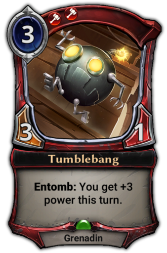 Tumblebang card