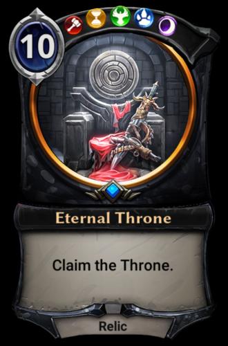 Eternal Throne card