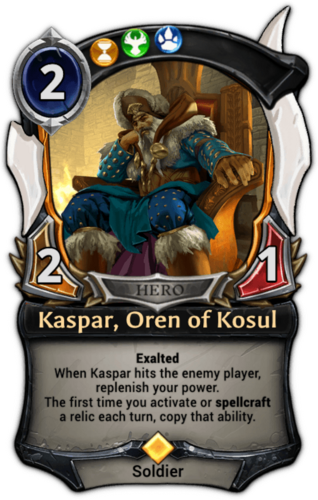 Kaspar, Oren of Kosul card