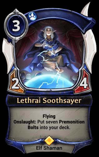 Lethrai Soothsayer card