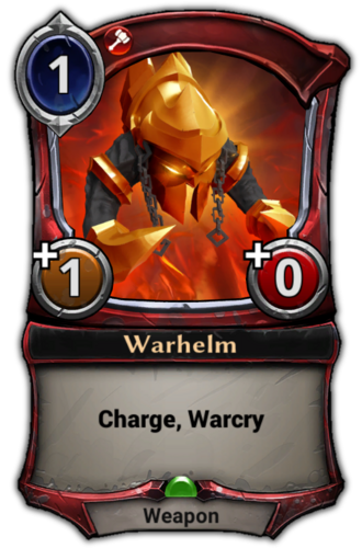 Warhelm card