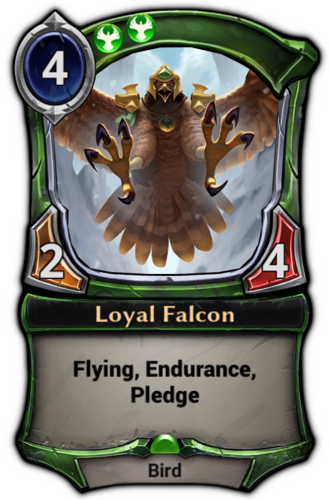 Loyal Falcon card