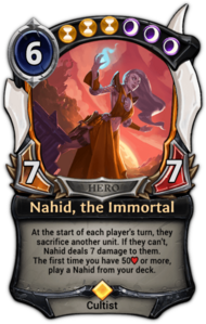 Nahid, the Immortal
