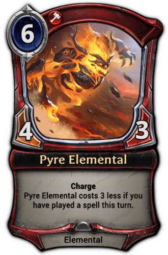 Pyre Elemental card