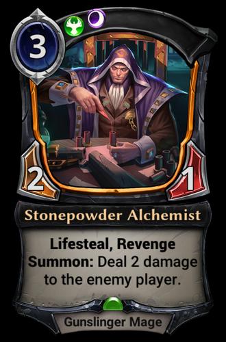 Stonepowder Alchemist card