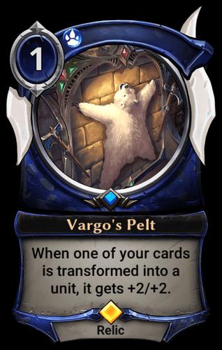 Vargo's Pelt card
