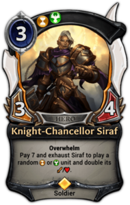Knight-Chancellor Siraf