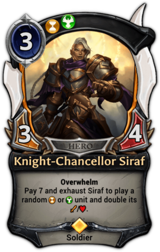 Knight-Chancellor Siraf card