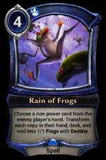 Rain of Frogs