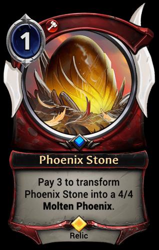 Phoenix Stone card